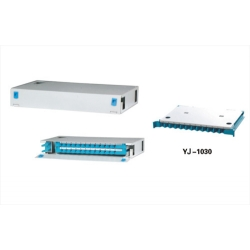 19 Inch 1U 24Core Sliding Fiber Optic Patch Panel ODF Fixed type