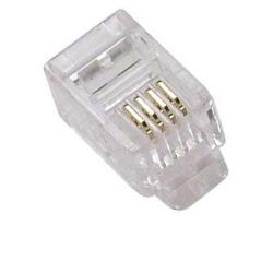 Modular Handset Plug 4P4C RJ9 RJ22
