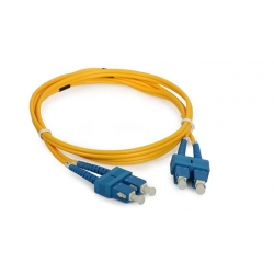 SC Fiber Optic Patch Cord & Pigtail Singlemode 9 / 125 For CATV