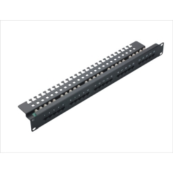 Cat.3 Voice Patch Panel 25port 1U 19 Inch