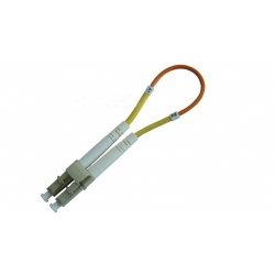 LC Fiber Optic Patch Cord , LC Loopback Patch Cord Singlemode & Multimode