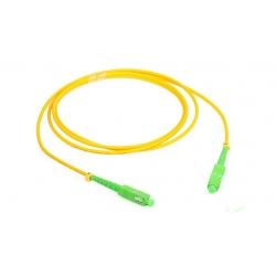 SC / APC Fan Out Optic Fiber Patch Cords , SC SM Patch Cord Simplex