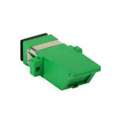 SC / APC connector Fiber Optic Adapter With Shutter Protective Cap