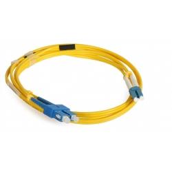 SC LC OS2 125um Fiber Optic Patch Cord for FTTH / LAN / CATV / FOS