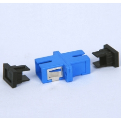 SC - SC SM Simplex Fiber Optic Adapter Single Mode Ceramic Sleeve