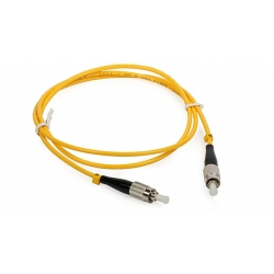 Fiber Optic fc-fc patch cord Singlemode 9 / 125 Simplex with APC Polishing