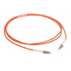 Multimode Duplex LC To LC Fiber Optic Patch Cord For CATV / FTTH / LAN