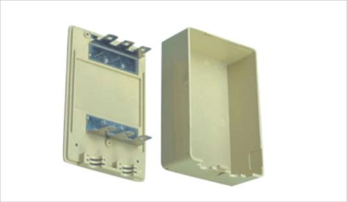 Plastic Indoor DP Box Snap Locking and Key Locking