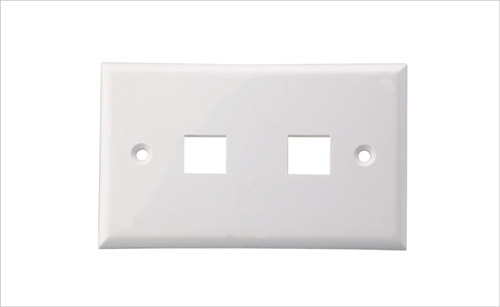 Wall Face Plate RJ45 Dual Port 2 Port 70*115MM