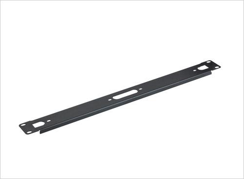 19 Inch 1U Black/Grey Blanking panel