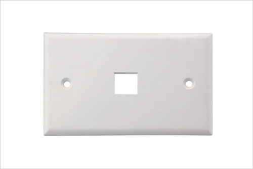 Wall Face Plate RJ45 Single Port 1 Port 70*115MM