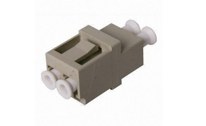 Ceramic or Bronze Fiber Optic Modulos Duplex Insertion loose 0.3 dB , Zirconia sleeve