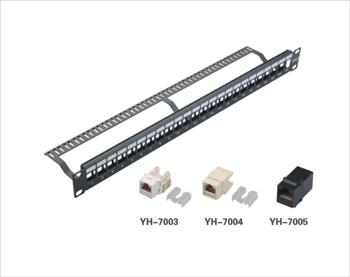24port blank patch panel with cable manager  china 24port