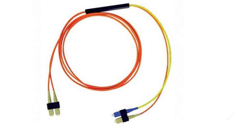 Mode Conditioning Fiber Optic Patch Cord , SC Mode Conditioning Fiber Optic Jumper