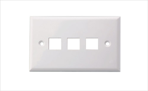 Wall Face Plate RJ45 Three Port 3 Port 70*115MM