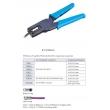 RG-59(4C)/RG-6(5C) Tools Coaxial F Connector Crimper