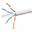 Cat.6 UTP, PVC PE Copper Clad Aluminum CCA 4 Pair Cat6 Cable 23AWG Quick Installation