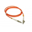 LC PC Multimode Fiber Optic Patch Cord With High Return Loss , APC Patch Cord