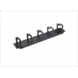 19 Inch Cable Manager With 5pcs Metal Ring 2U
