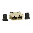 Multimode SC Fiber Optic Adapterwith Ceramic Sleeve For Telecommunication