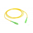 SC / APC Fan Out Optic Fiber Patch Cords , SC SM Patch Cord Simplex