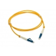 PVC Jacket Fiber Optic lc-lc multimode patch cord With Length 1 Meter For Netwrok