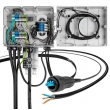 LC fiber optic patch cord break out 4.8mm cable used for Ericsson network distribution
