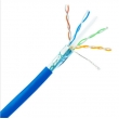 CAT5e High Performance Lan Network Cable UTP , F-UTP , FTP 0.49mm - 0.585mm Conductor