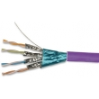 Cat 7 Lan Cable with PVC Jacket Pass Fluke HDPE Insulation