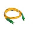 LC / APC SM Fiber Optic Patch Cord 1M Insertion Loss 0.2dB 50UM / 125UM