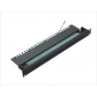 Cat.3 Voice Patch Panel 25port with Earth Line 1U